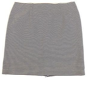 J. Jill Striped Skirt - L